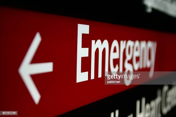 emergency sign - ongelukken en rampen stockfoto's en -beelden
