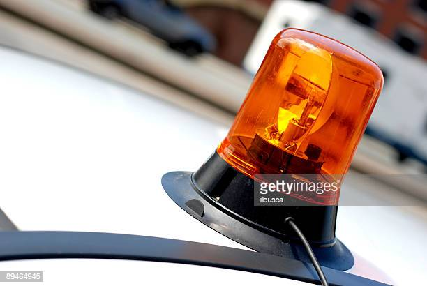 emergency siren - emergency siren stock pictures, royalty-free photos & images