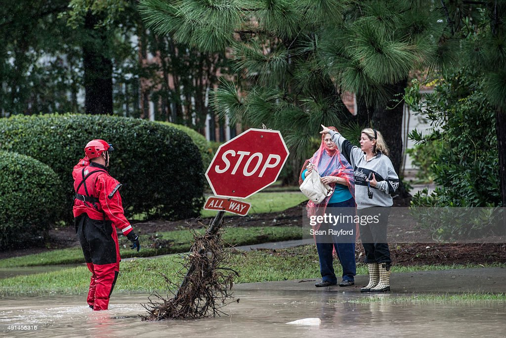 South Carolina Hit By Historic Rain And Flooding : News Photo