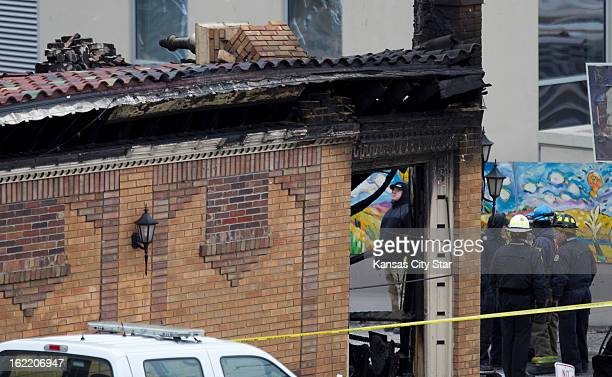 Emergency workers and investigators were on the scene at JJ's restaurant Wednesday February 20 after a gas main explosion ensuing a 4alarm fire...