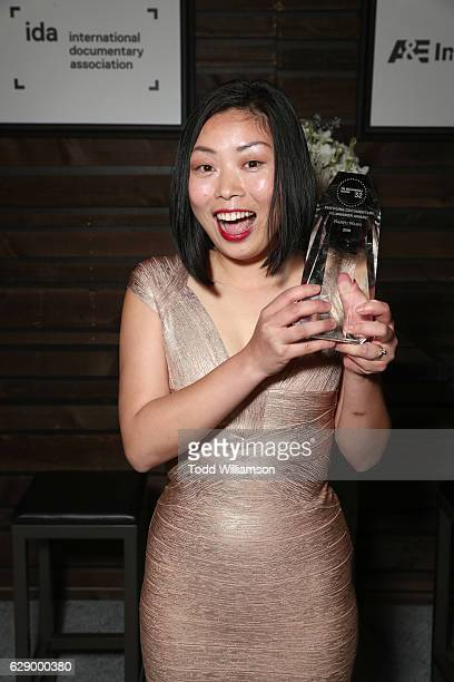 Emerging Documentary Filmmaker award winner Nanfu Wang attends the 32nd Annual IDA Documentary Awards at Paramount Studios on December 9 2016 in...