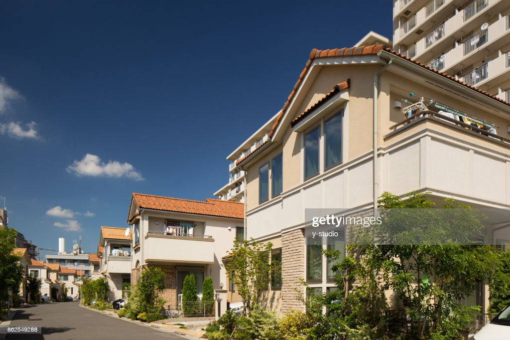 Emerging residential area : Stock Photo