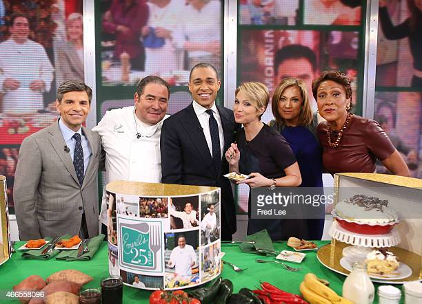 """Emeril celebrates 25 years on """"Good Morning America,"""" airing Monday, March 16th on the Walt Disney Television via Getty Images Television Network."""