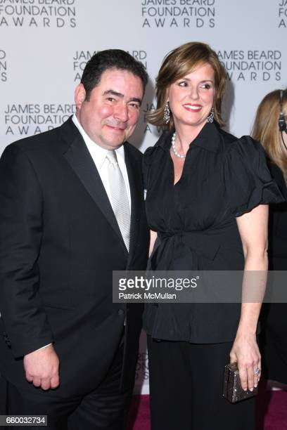 Emeril Lagasse and Alden Lagasse attend The 2009 JAMES BEARD FOUNDATION AWARDS at Avery Fisher Hall at Lincoln Center on May 4 2009 in New York City