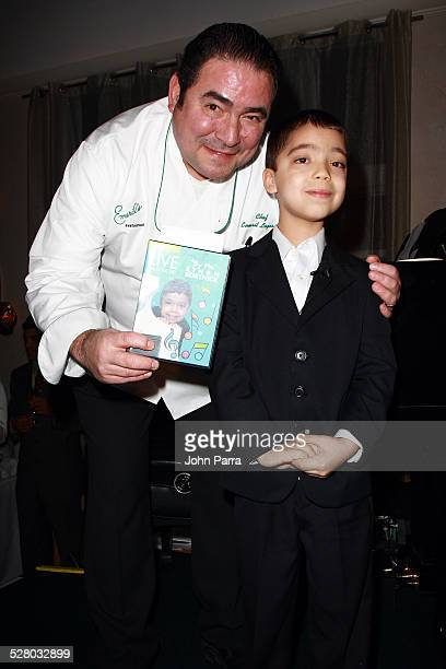 Emeril Lagasse and Ethan Bortnick celebrate The 5th Anniversary Of Emeril's On South Beach to benefit the Miami Children's Hospital Foundation at...
