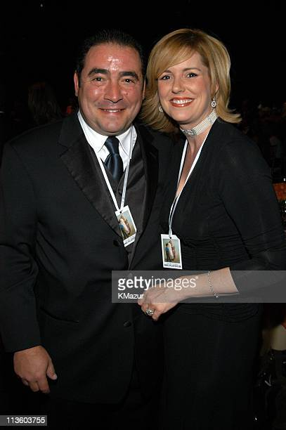 """Emeril Lagasse and wife during The Andre Agassi Charitable Foundation's 8th """"Grand Slam for Children"""" Fundraiser - Dinner and Auction at The MGM..."""