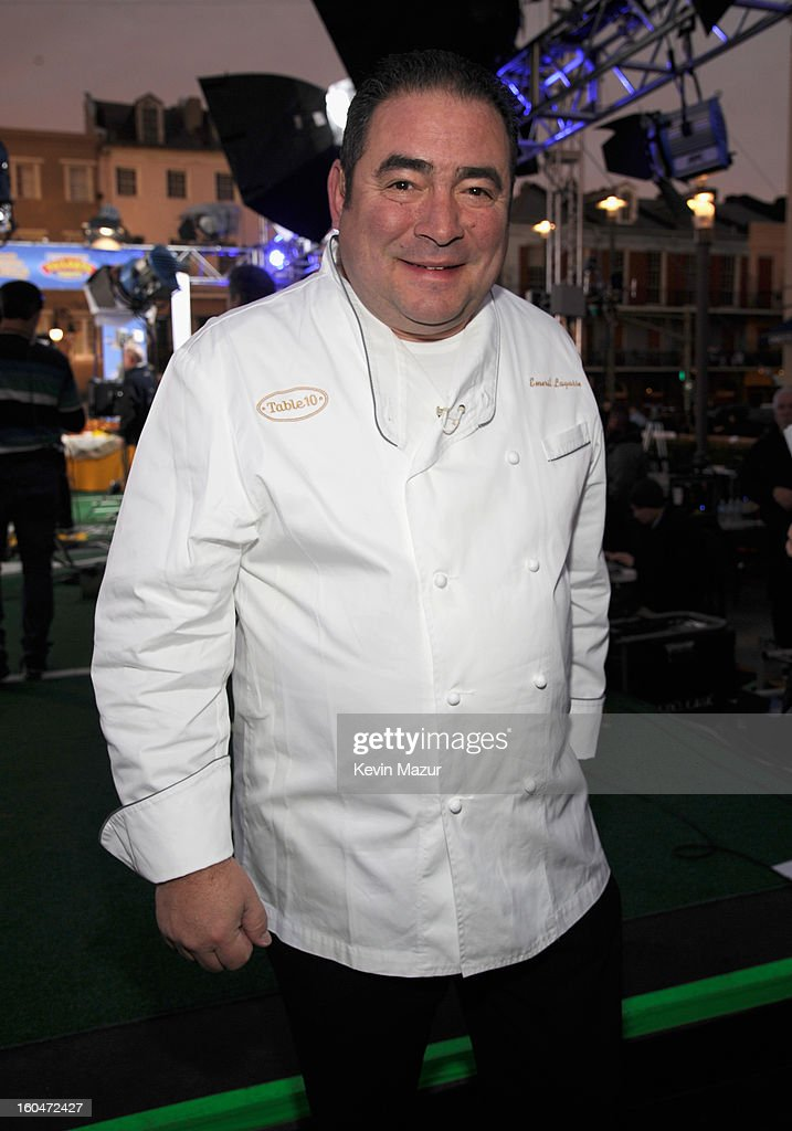 Emeril Lagasse attends ABC's 'Good Morning America' at the House of Blues on February 1, 2013 in New Orleans, Louisiana.