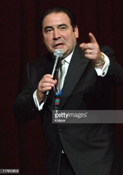 """Emeril Lagasse during The Andre Agassi Charitable Foundation's 10th Annual """"Grand Slam for Children"""" Fundraiser - Dinner and Auction at MGM Garden..."""