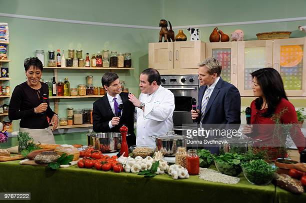 AMERICA Emeril Lagasse shares his recipes on GOOD MORNING AMERICA 31210 on the Walt Disney Television via Getty Images Television Network GM10 ROBIN