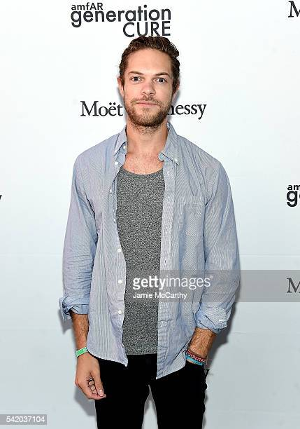 Emerson Barth attends the amfAR generationCure Solstice 2016 on June 21 2016 in New York City