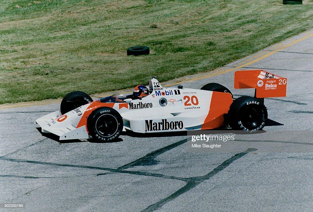 Emerson Fittidalidi: Age; 43; home; Miami Beach; Fia.; status; married with 4 children; Indy-car sea : News Photo