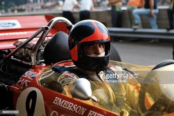 Emerson Fittipaldi LotusFord 49C Grand Prix of Austria Osterreichring 16 August 1970