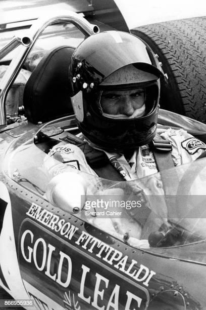 Emerson Fittipaldi LotusFord 49C Grand Prix of Germany Hockenheimring 08 February 1970