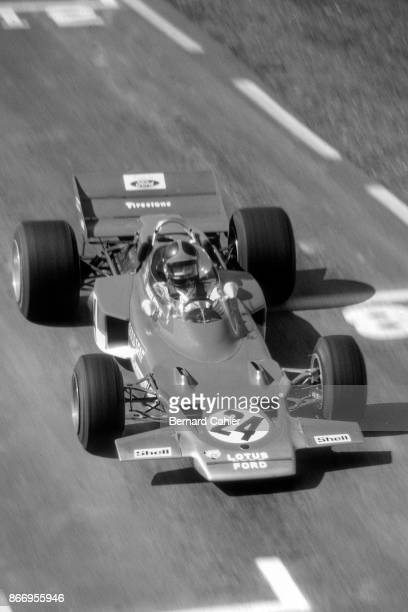 Emerson Fittipaldi LotusFord 72C Grand Prix of the United States Watkins Glen International 04 October 1970 First ever Grand Prix win for Emerson...