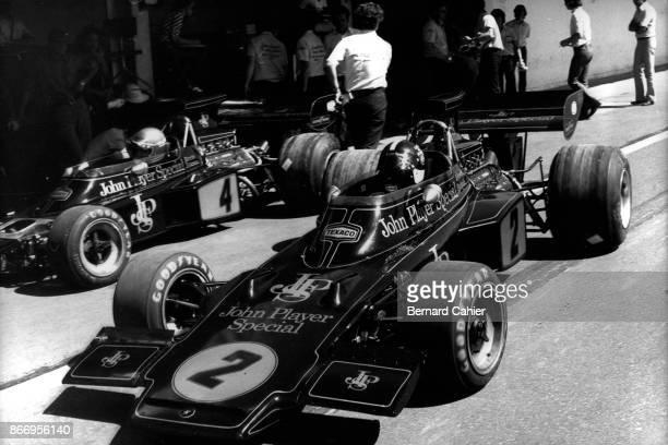 Emerson Fittipaldi LotusFord 72D Grand Prix of Argentina Autodromo Juan y Oscar Galvez Buenos Aires 28 January 1973