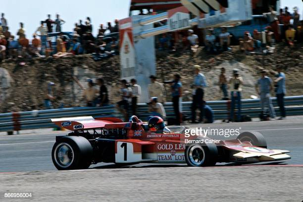 Emerson Fittipaldi LotusFord 72D Grand Prix of France Circuit Paul Ricard 04 July 1971