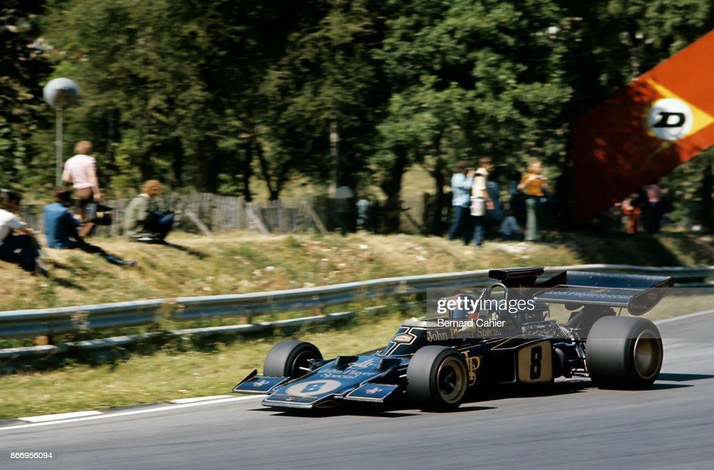 Emerson Fittipaldi, Grand Prix Of Great Britain : News Photo
