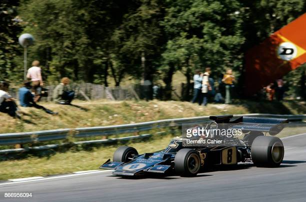 Emerson Fittipaldi LotusFord 72D Grand Prix of Great Britain Brands Hatch 15 July 1972