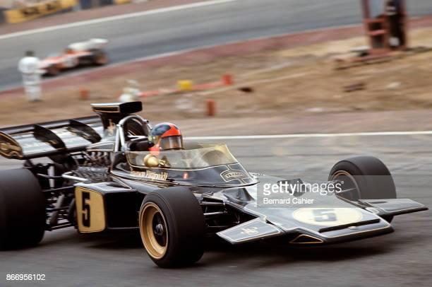 Emerson Fittipaldi LotusFord 72D Grand Prix of Spain Circuito del Jarama 01 May 1972