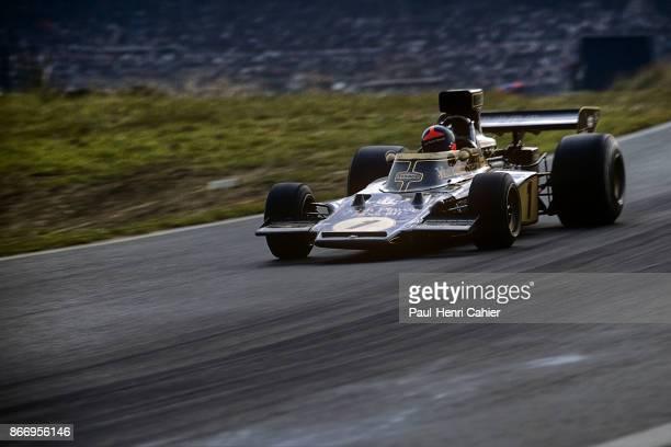 Emerson Fittipaldi LotusFord 72E Grand Prix of Austria Osterreichring 19 August 1973
