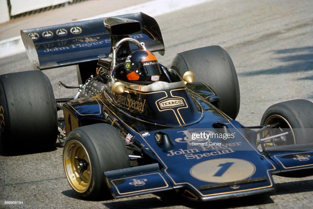 Emerson Fittipaldi, Grand Prix Of Monaco : News Photo
