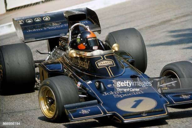 Emerson Fittipaldi LotusFord 72E Grand Prix of Monaco Circuit de Monaco 03 June 1973