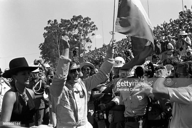 Emerson Fittipaldi Maria Helena Fittipaldi Grand Prix of Brazil Interlagos 11 February 1973