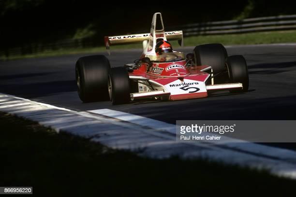 Emerson Fittipaldi McLarenFord M23 Grand Prix of Italy Autodromo Nazionale Monza 08 September 1974