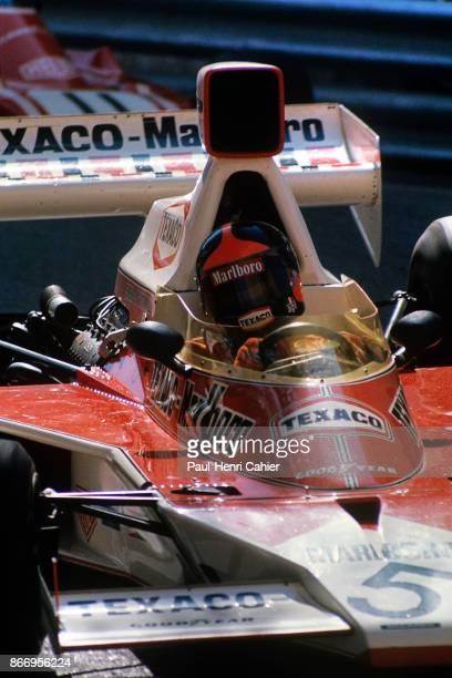 Emerson Fittipaldi, McLaren-Ford M23, Grand Prix of Monaco, Circuit de Monaco, 26 May 1974.