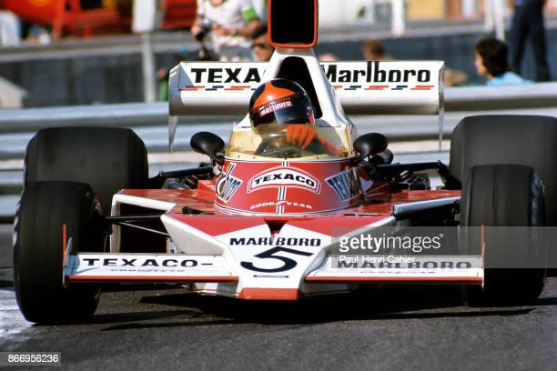 Emerson Fittipaldi McLarenFord M23 Grand Prix of Monaco Circuit de Monaco 26 May 1974