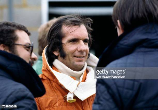 Emerson Fittipaldi of Brazil, who came second at the 1978 BRDC International Trophy Race at Silverstone in a Fittipaldi-Cosworth for Copersucar...
