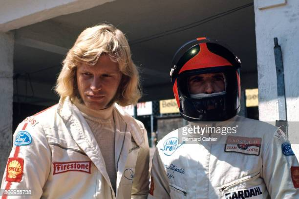 Emerson Fittipaldi Reine Wisell Grand Prix of Germany Nurburgring 01 August 1971