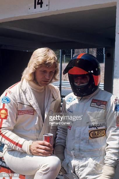 Emerson Fittipaldi, Reine Wisell, Grand Prix of Germany, Nurburgring, 08 January 1971.