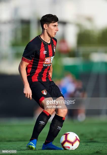 Emerson Hyndman of AFC Bournemouth controls the ball during Pre Season friendly Match between Sevilla FC and AFC Bournemouth at La Manga Club on July...