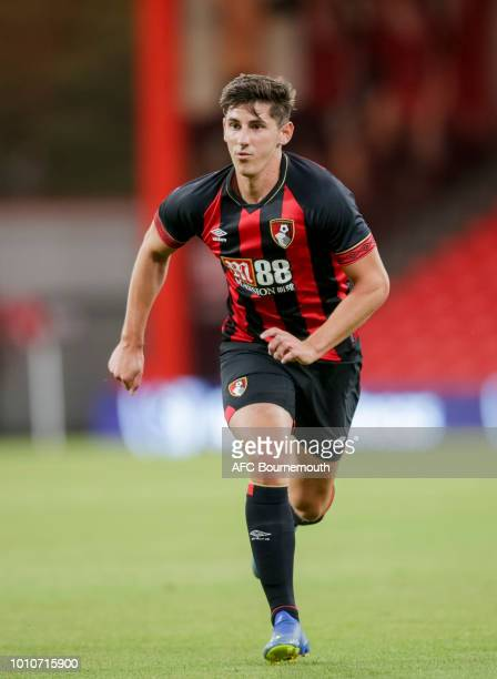 Emerson Hyndman of Bournemouth during a preseason friendly between AFC Bournemouth and Real Betis at Vitality Stadium on August 3 2018 in Bournemouth...