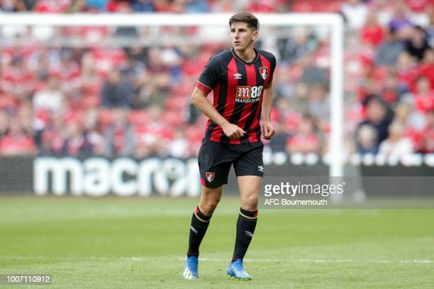 Emerson Hyndman of Bournemouth during preseason friendly between between Nottingham Forest and AFC Bournemouth at City Ground on July 28 2018 in...