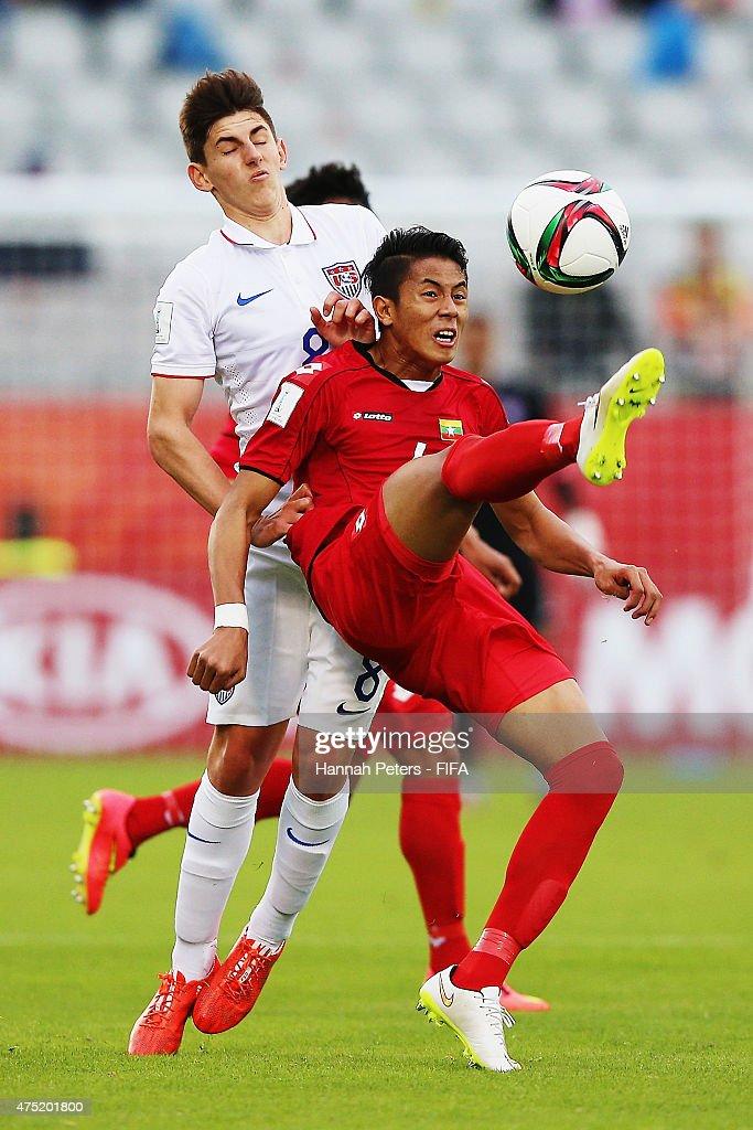 USA v Myanmar: Group A - FIFA U-20 World Cup New Zealand 2015 : News Photo