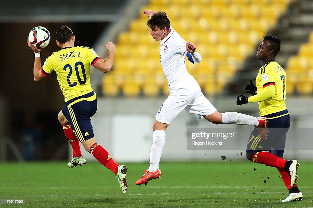 USA v Colombia: Round of 16 - FIFA U-20 World Cup New Zealand 2015 : News Photo