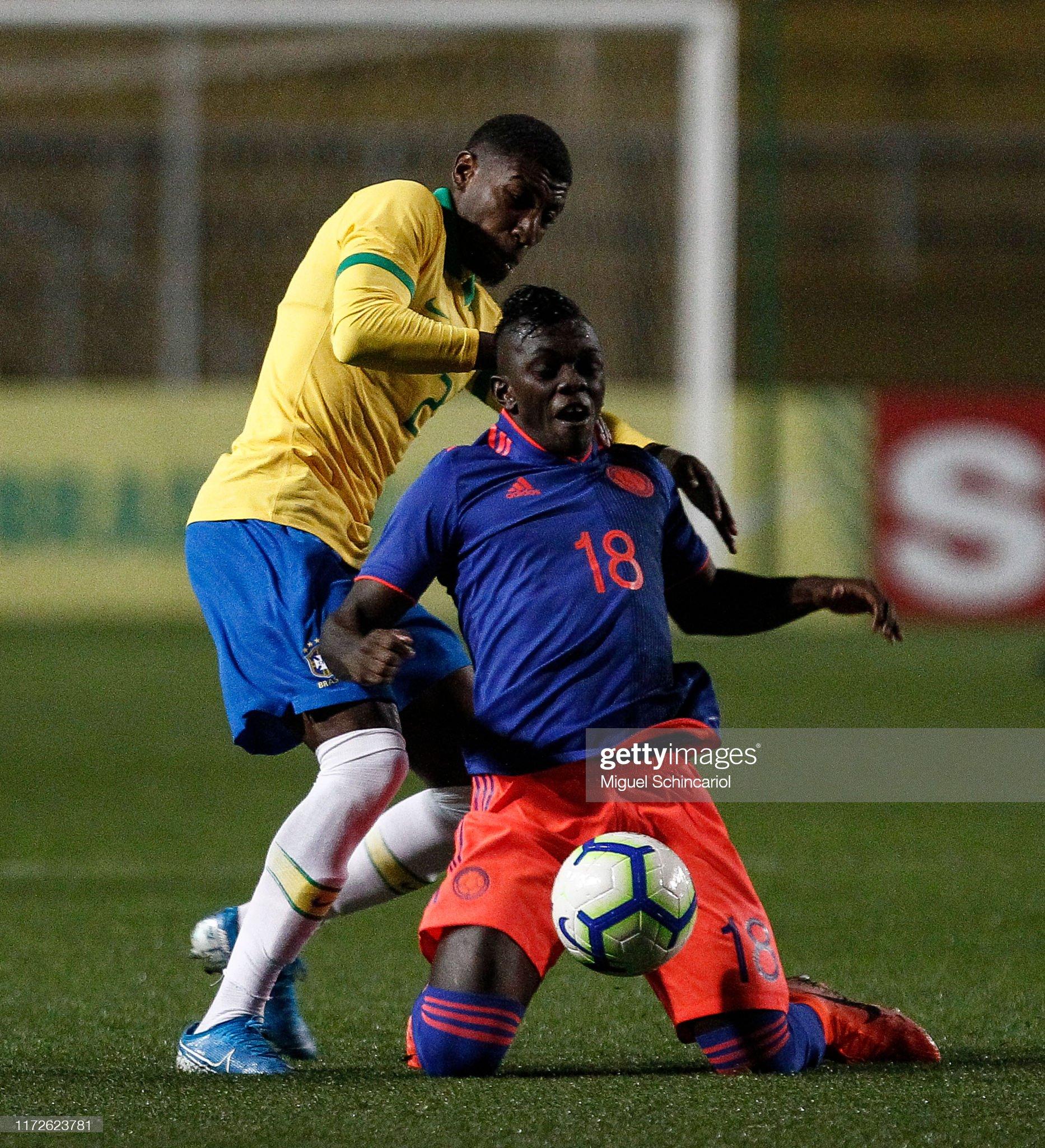 Brazil v Colombia - Olympic Soccer Friendly : News Photo