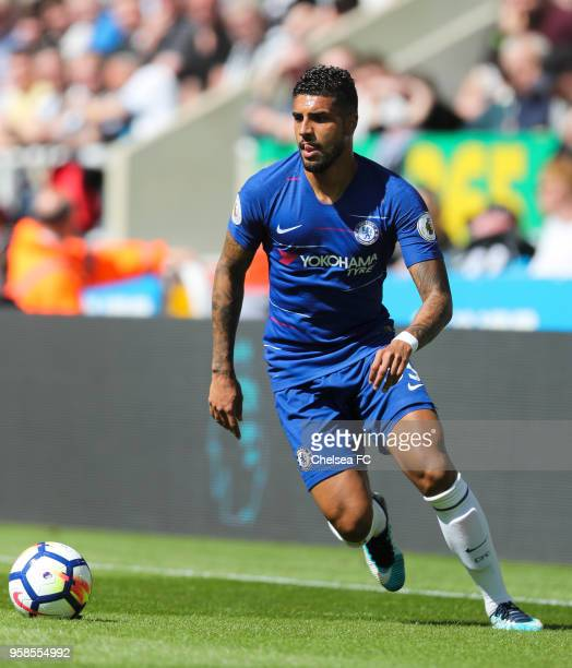 Emerson of Chelsea during the Premier League match between Newcastle United and Chelsea at St James Park on May 13 2018 in Newcastle upon Tyne England