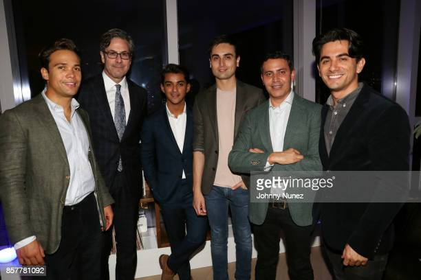 Emerson Silva Martin Lomazow Adal Gutierrez Victor Roquette Gabriel RiveraBarraza and Marco Palli attend the Mercado Global PreCelebration Gathering...