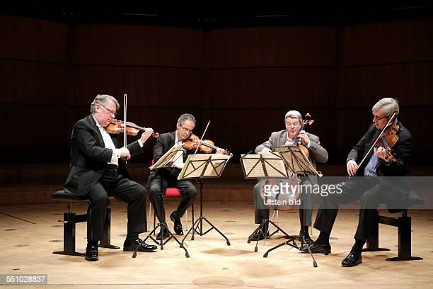 Emerson String Quartet USA on stage at Philharmony Cologne