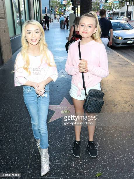 Emery Bingham and Haley Sullivan are seen on July 01 2019 in Los Angeles California