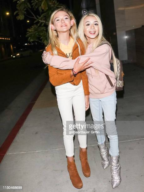 Emery Bingham and Sarah Dorothy are seen on June 17 2019 in Los Angeles California