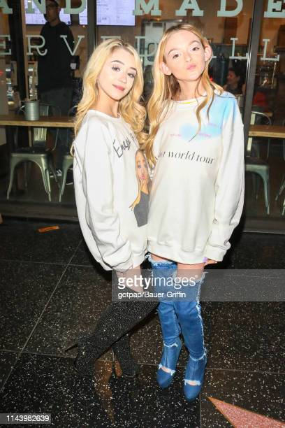 Emery Bingham and Sarah Dorothy Little are seen on May 14 2019 in Los Angeles California