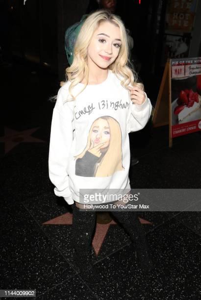 Emery Bingham is seen on May 14 2019 in Los Angeles California