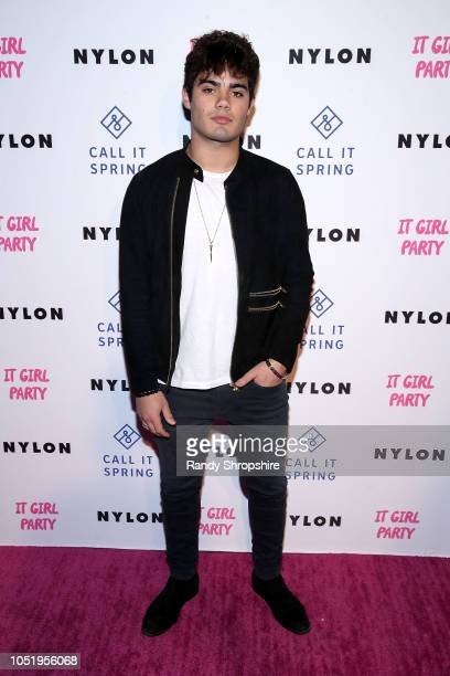 Emery Kelly attends NYLON's annual It Girl Party sponsored by Call It Spring at Ace Hotel on October 11 2018 in Los Angeles California
