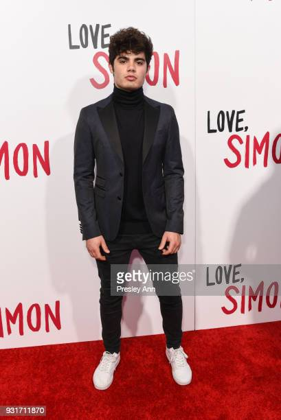 Emery Kelly attends Special Screening Of 20th Century Fox's 'Love Simon' Arrivals at Westfield Century City on March 13 2018 in Century City...