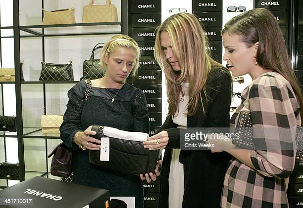 Emese Szenafy Molly Sims and Ginnifer Goodwin during Nordstrom Topanga Celebrates Grand Opening Inside and Fashion Show at Nordstrom Topanga in...