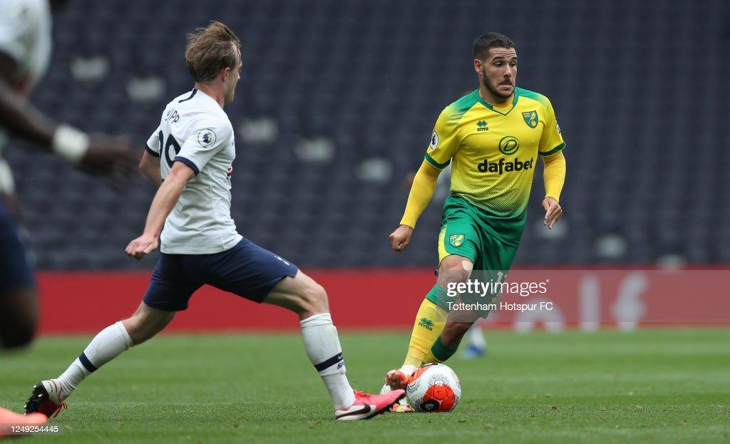 Tottenham Hotspur v Norwich City - Practice Match : ニュース写真